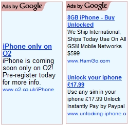 unlock you iPhone ads