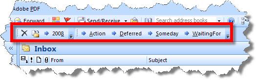 Outlook pdf gtd